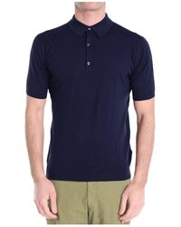 John Smedley - Polo T-shirt - Lyst