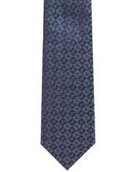 Emporio Armani - All-Over Logo Tie - Lyst
