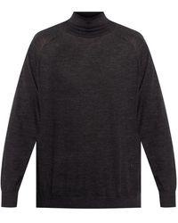 Nanushka Wool turtleneck sweater - Grigio