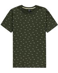 Kultivate T-shirt Ziggy - Groen