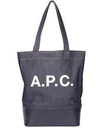 A.P.C. Axelle Bag - Grijs