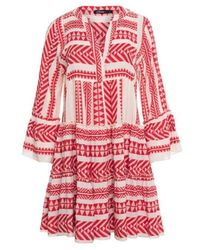 Devotion Short Dress Ella 0203191g - Rood