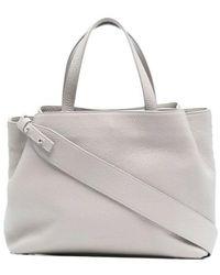 Fabiana Filippi Chain Detail Tote Bag - Grijs