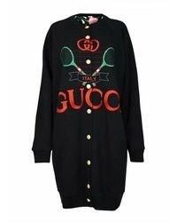 Gucci Reversible Long Gilet - Zwart