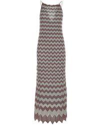 M Missoni 2dg005912k0094 L401n Dress - Grijs