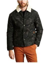 Faguo Camouflage Jacket - Groen