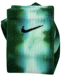 Nike Calzini Tie Dye Custom - Groen