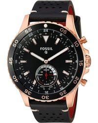 Fossil Watch Mod. Crewmaster - Zwart