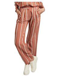 La Petite Francaise Papier Matelas striped flared trousers - Rosa