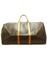 Louis Vuitton Keepall Bandoulière 60 - Braun