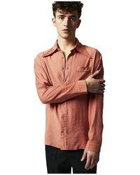 Martin Asbjorn Joshua Shirt - Roze
