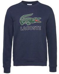 Lacoste - Sweatshirt Van Fleece Sh6382 - Lyst
