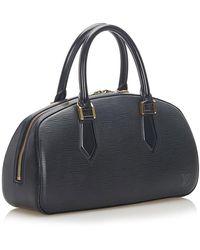 Louis Vuitton Epi Leather Jasmin Leather Negro