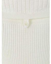 Proenza Schouler Ribbed Sweater - Naturel