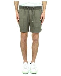 Replay M9757 000 84072g Bermuda Shorts - Groen