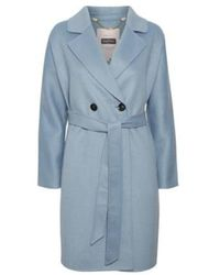 Part Two Misty coat - Bleu