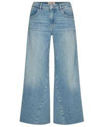 Mos Mosh Flair Jeans - Blauw