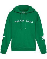 Zoe Karssen Pom Pom Squad Hoody - Grün
