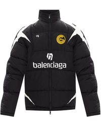 Balenciaga Branded Jacket - Zwart