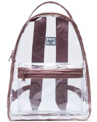 Herschel Supply Co. Nova Mid Volume Clear Backpack - Roze