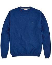 Sun 68 - Crewneck sweater - K40101-12 - Lyst