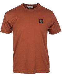 Stone Island T-shirt - Rood
