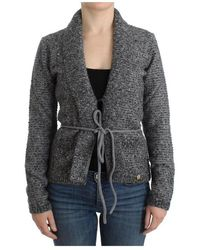 Roberto Cavalli Knitted Cardigan - Grijs