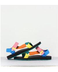 Lancaster Original Universal Sandals Azul