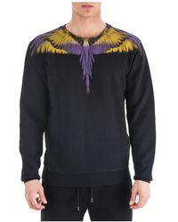 Marcelo Burlon Men's Sweatshirt Sweat Wings - Zwart