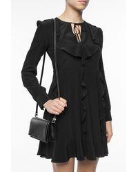 Alaïa Studded shoulder bag Negro