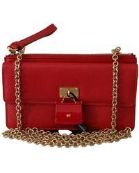 Dolce & Gabbana Sling Sicily Tas - Rood
