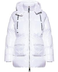 Khrisjoy Jacket with logo - Blanc