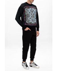 Dolce & Gabbana Metallic Calfskin Nappa Portofino Sneakers - Metallizzato