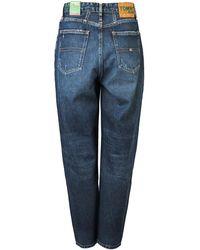 Tommy Hilfiger Mom Fit Jeans - Bleu