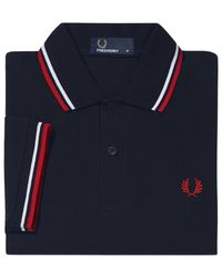 Fred Perry Polo - Blauw