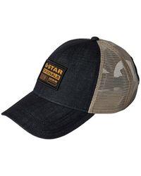 G-Star RAW Cap- Denim Baseball Trucker - Blauw