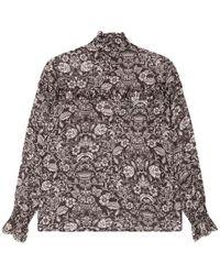 Alix The Label Flower blouse 2102971873-999 - Nero