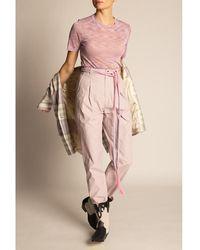 Étoile Isabel Marant - See-through T-shirt Rosa - Lyst