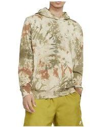 Nike Felpa Sportswear Tie Dye - Naturel