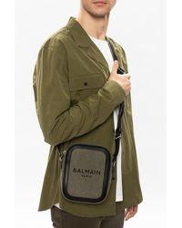 Balmain Shoulder bag with logo - Vert