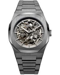 D1 Milano Watch - D1-skbj02 - Grijs