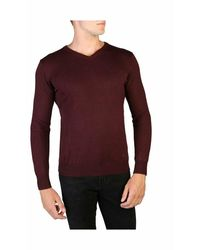 Yes-Zee Sweater M812_Ms00 - Rosso