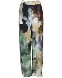 Alpha Studio Pantaloni Ad 5602q - Groen