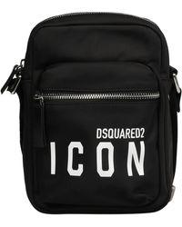 DSquared² Be Icon Minitas - Zwart