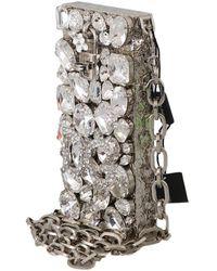 Dolce & Gabbana Bolso Gris