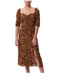Obey Iggy Dress - Marron