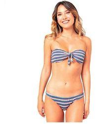 Rip Curl Bikini Mujer Gsiqp4 - Blauw