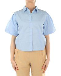 ONLY Shirt 15223216 - Blauw