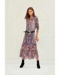 Dior - Skirt 1E21Bahi Rosa - Lyst