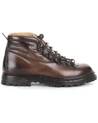 Officine Creative Ocuarti001Aercah203 Boots - Marrone